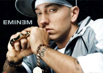 Eminem - knuckle duster Affiche