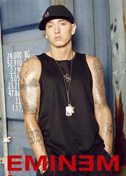 Eminem - warehouse Affiche