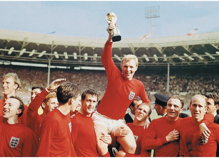 England 1966 - World cup Team Affiche