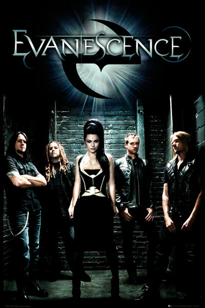 Evanescence - band Affiche