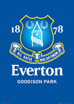 Everton - club crest Affiche
