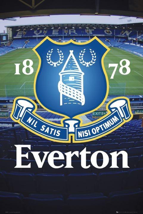 Everton - goodison crest Affiche