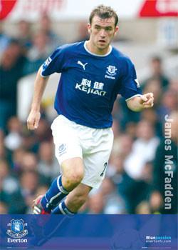 Everton - McFadden solo Affiche