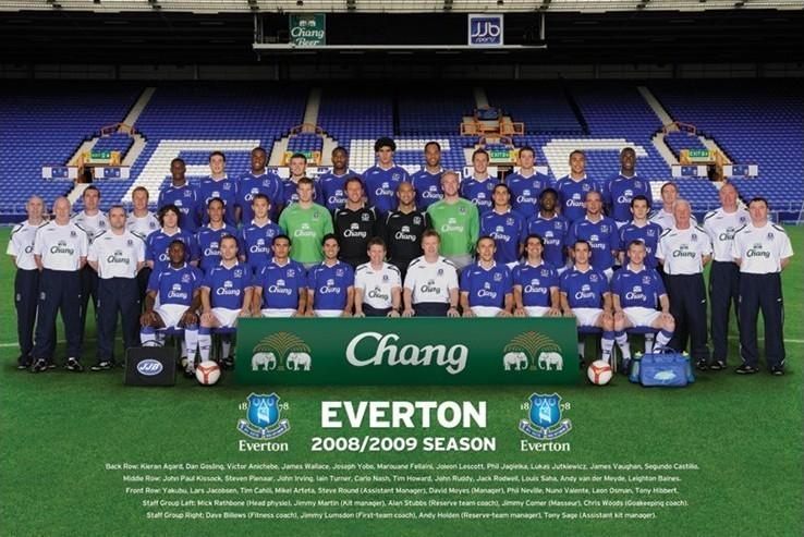 Everton - Team Affiche