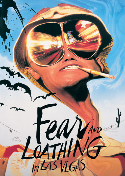 FEAR & LOATHING IN  LAS VEGAS Affiche