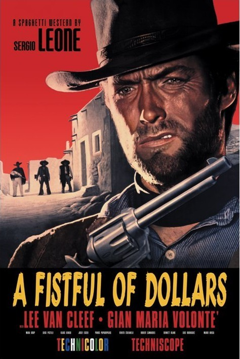 FISTFULL OF DOLLARS Affiche