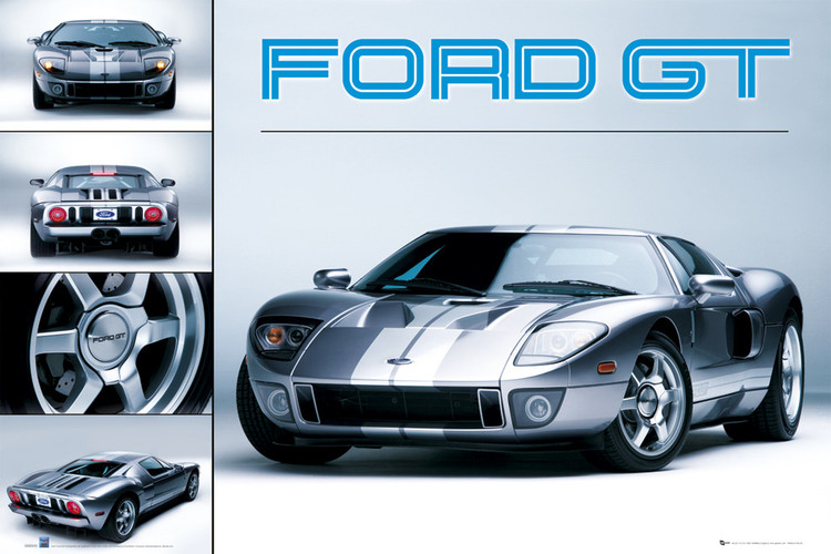 Ford GT Affiche