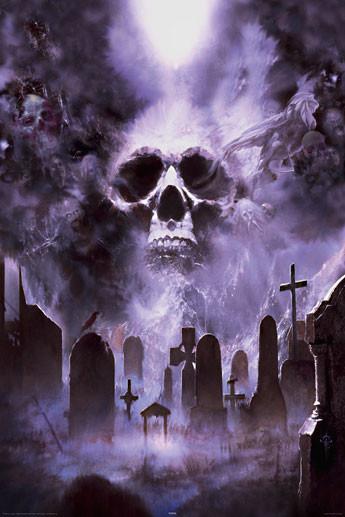 Fournier - cemetery Affiche