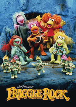 FRAGGLE ROCK Affiche