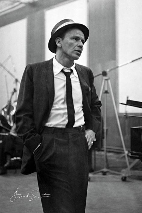 Frank Sinatra - My Way Affiche