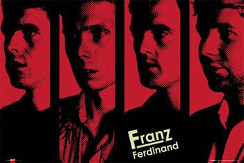 Franz Ferdinand - band Affiche