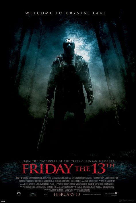 Friday the 13th Affiche