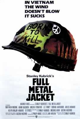 FULL METAL JACKET - helmet Affiche