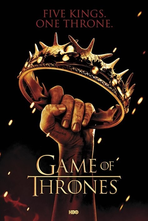 GAME OF THRONES - crown Affiche