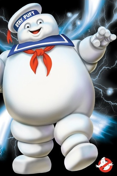GHOSTBUSTERS - stay puft Affiche