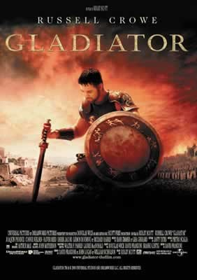 GLADIATOR - russell crowe Affiche