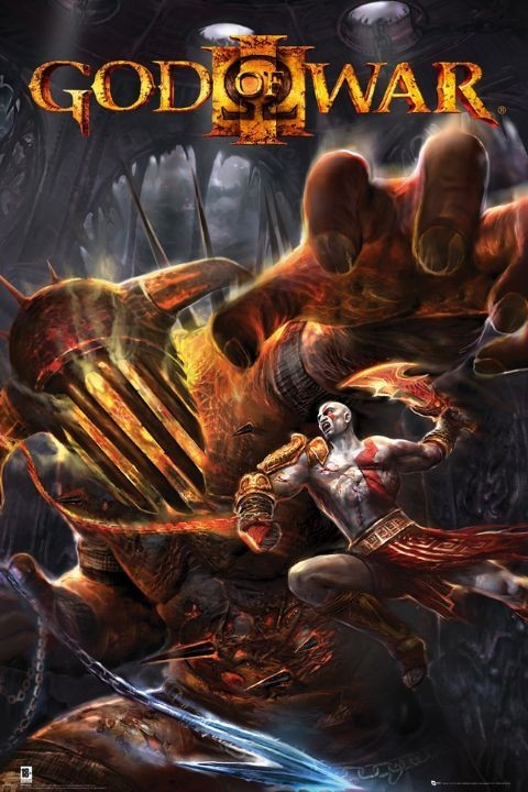 GOD OF WAR 3 - hades Affiche