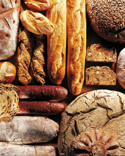 Gourmet bread Affiche