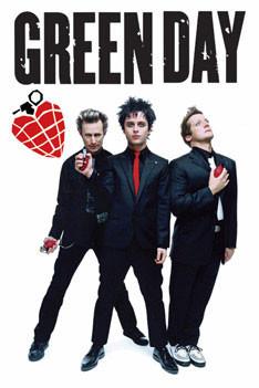 Green Day - grenades Affiche