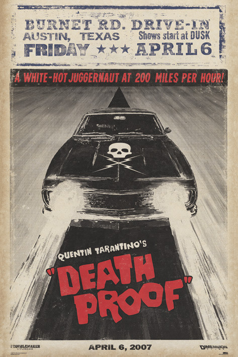 GRINDHOUSE - car Affiche