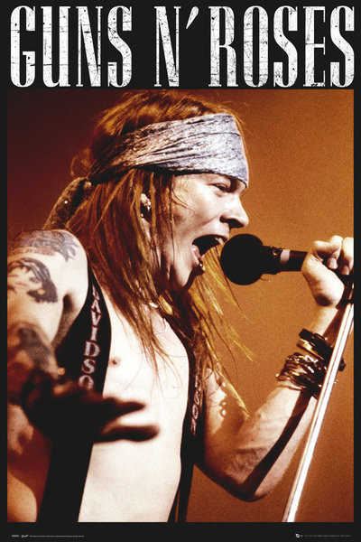 Guns'N'Roses - Axel Affiche