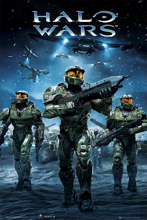 Halo Wars - army  Affiche