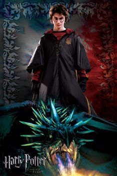 HARRY POTTER 4 - dragon Affiche