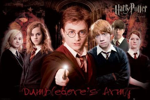 HARRY POTTER 5 - army Affiche
