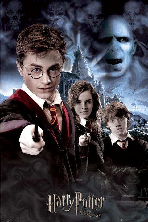HARRY POTTER 5 - collage Affiche
