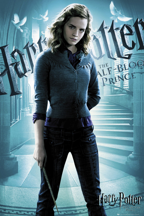 HARRY POTTER 6 - hermiona solo Affiche