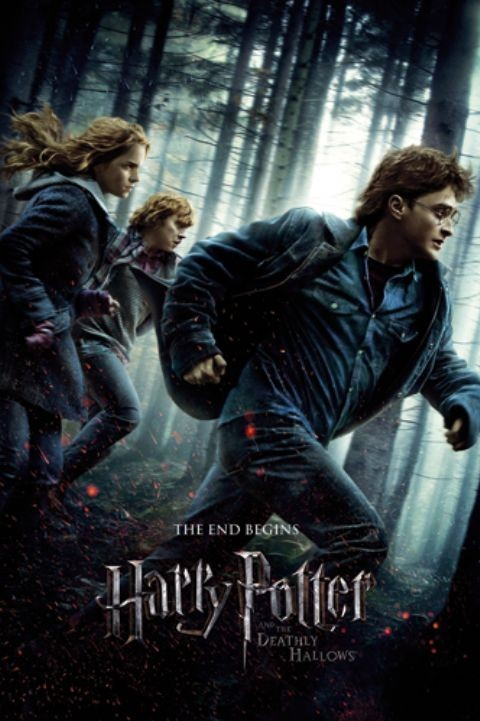 HARRY POTTER 7 - one sheet Affiche