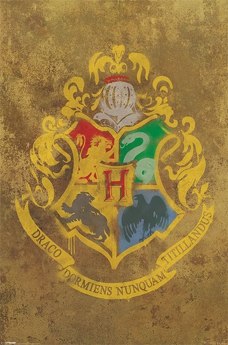 HARRY POTTER - hogwarts crest Affiche