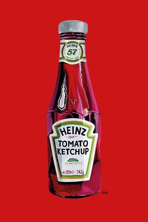 Heinz - tomato ketchup Affiche