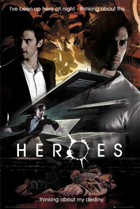 HEROES - destiny peter Affiche