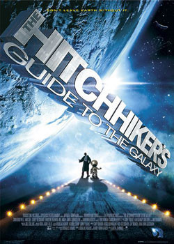 Hitchhikers - Guide to Galaxy - one sheet Affiche