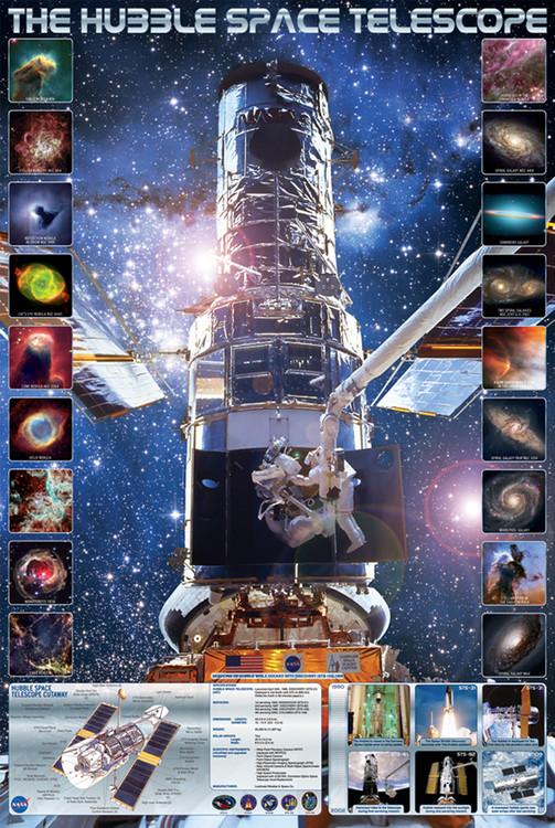 HUBBLE SPACE TELESCOPE Affiche