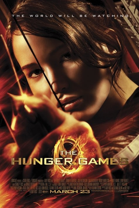 HUNGER GAMES - aim Affiche
