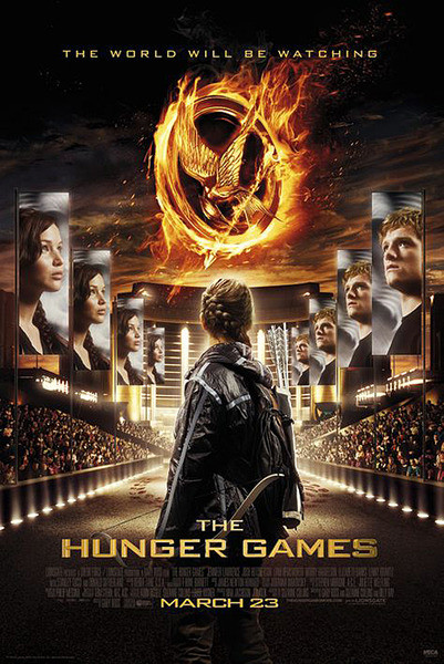 HUNGER GAMES - The World Will Be Watching Affiche