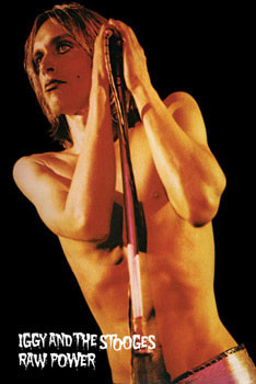 Iggy Pop - raw power Affiche