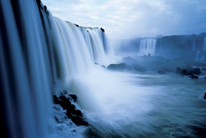 Iguaca falls - brazil Affiche