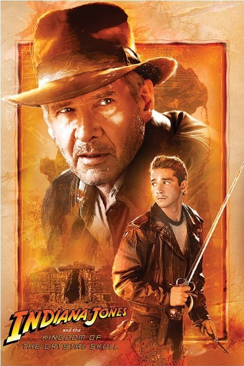 INDIANA JONES - kingdom of the crystal skull  Affiche