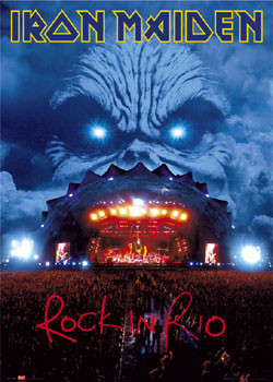 Iron Maiden - Rock in Rio Affiche