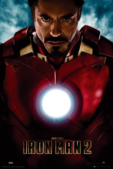 IRON MAN 2 - tony stark Affiche