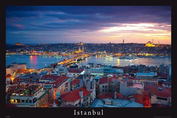 Istanbul - turquie Affiche