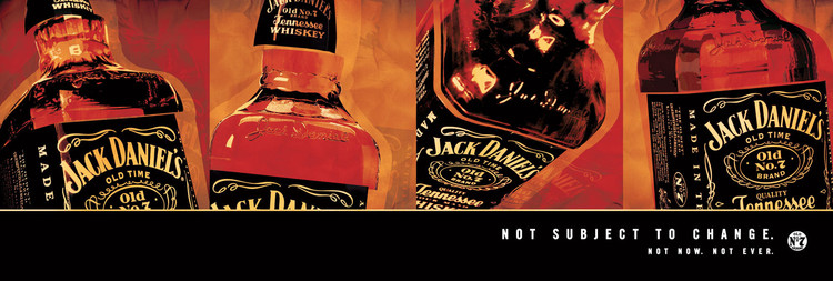 Jack Daniel's - not subject to change Affiche