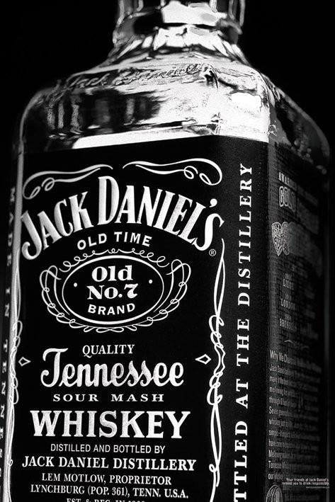 JACK DANIELS - bottle Affiche