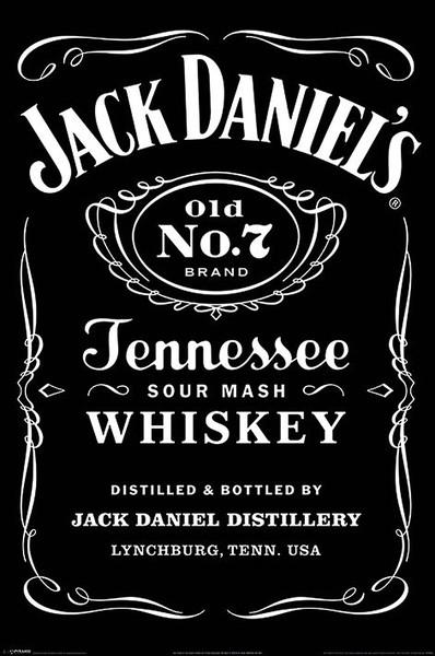 Jack Daniels - Label Affiche