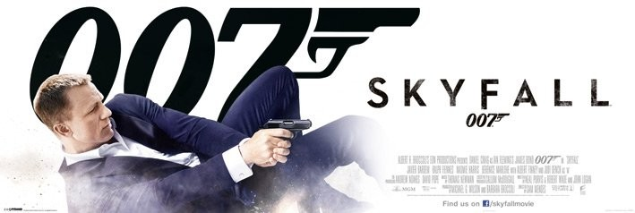 JAMES BOND 007 - bond in dust Affiche