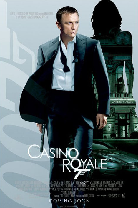 JAMES BOND 007 - casino royale empire one sheet Affiche