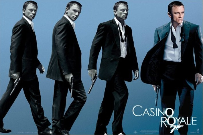 JAMES BOND 007 - casino royale  Affiche